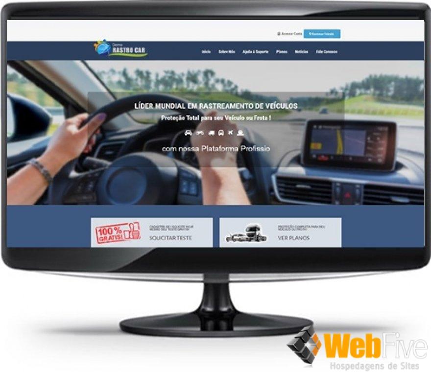 Lançamento - Site Empresa de Rastreamento c/ módulo PG Paypal